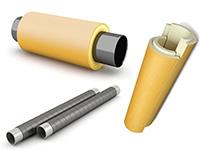 Труба изолированнная и компоненты